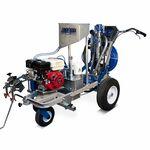 Машина для нанесения дорожной разметки HYVST OTM-1700